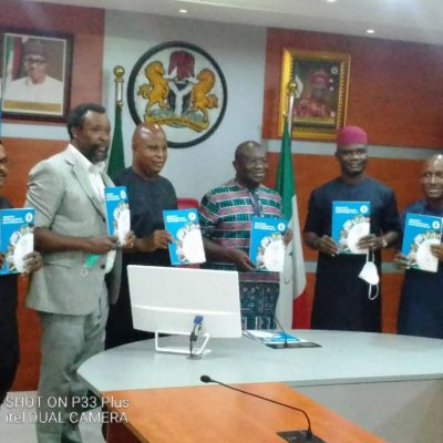 Governor Okezie Ikpeazu signs the Abia State Water Bill into Law